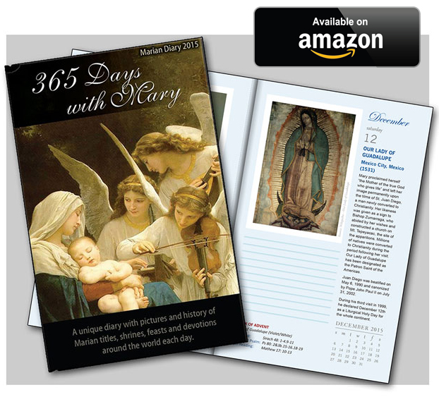 365 Days with Mary by Michael O'Neill - now available on Amazon.com